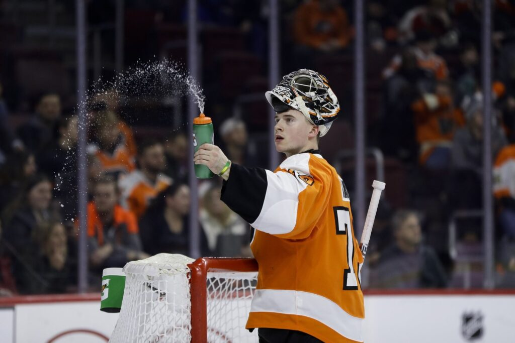 Former Silvertip, Carter Hart, Shines at NHL Level