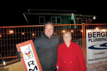Crowd Gathers for Ronald McDonald House Lighting Event